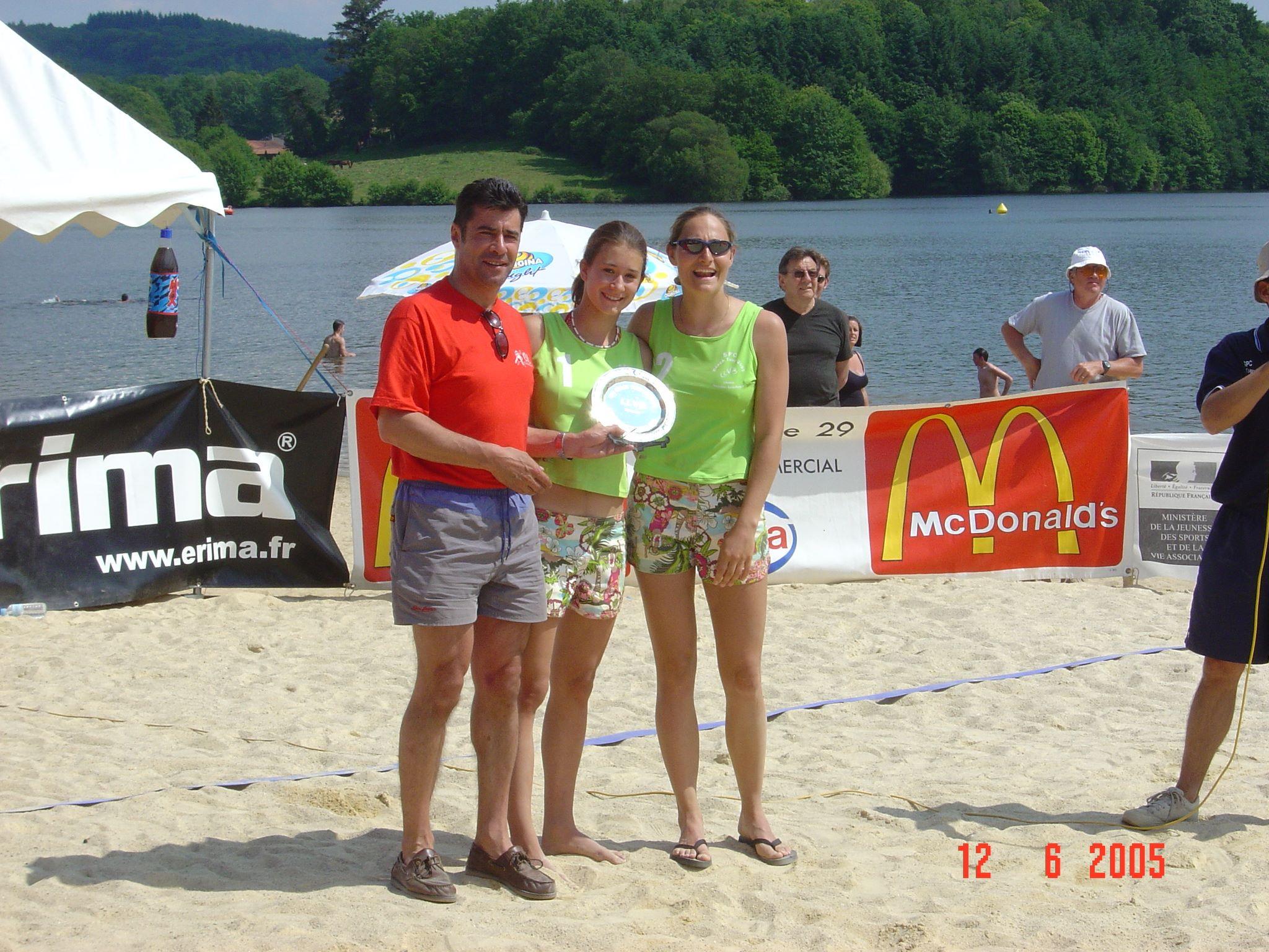 Organisation champinnat de Beach 2005